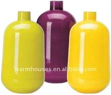 glad glass vase 35cm purple