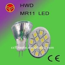 home decoration lighting MR11-12smd5050 8-30v pure white