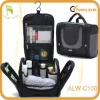 New Zipper Black Hanging Toiletry Travel Bag Organizer