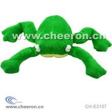 Plush Frog Toy, Stuffed Pet Toys, Plush Squeaky Toy
