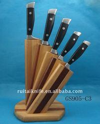 Top quality super kitchen knife block