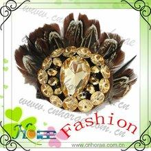 fashion feather shoe ornament,shoe decoration