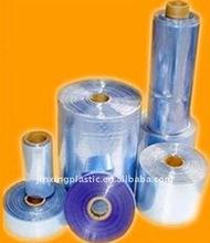 blown PVC tube heat shrinkable film for packaging in roll