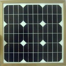 Polycrystalline or monocrystalline 25W solar panels for home use