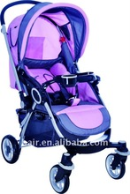 Pink Stroller With Canopy