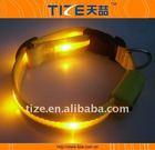 Reflective 5 lighted led dog collars flashing dog collar with led TZ-PET1336