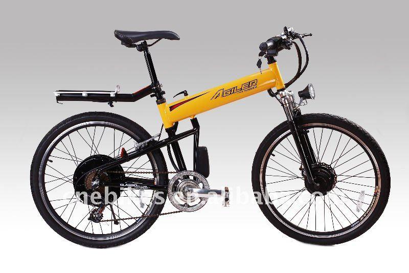 High Speed Brushless Hub Motor E Bike Electric Bicycle