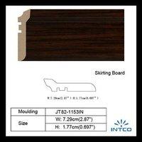 Chinese Mahogany Skirting Board/Baseboard for Interior Decoration