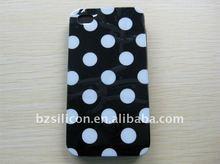 Fashion polka dot model cellular phone case for iphone 4g
