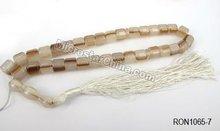 33pcs resin muslim prayer beads coffee color