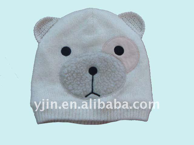 Knitting Pattern Baby Hat Animal : Baby Bonnet Knitting Patterns   Catalog of Patterns