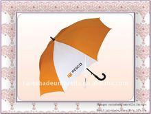 standard size EVA curve handle promotion umbrella