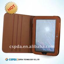 for Lenovo idealpad K1 laptop rotation leather case/cover/folder
