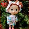 Mini dolls mobile pendent