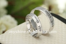 Myshine newest style fashion rings 2011 jewellery