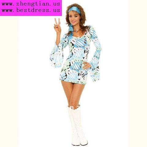 70s Retro Fashion Dress