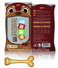 Premium Delicious Roast Beef Flavor Teeth-Grinding Bone Dog Chews