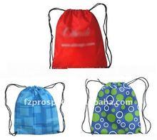 Polyester drawstring socks storage bag