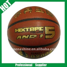 FIBA standards sport match PU basketball