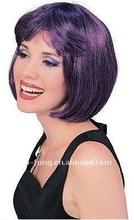 Dark Purple Short Super Model Wig