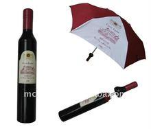 Promotion wine bottle Umbrella