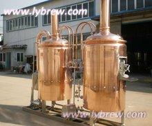 500l microbrewery, copper