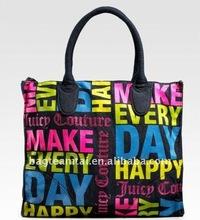 word paint Cotton Totebag/Handbag