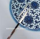 2011 noble porcelain religious book marks shape 19.5 cm length green