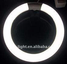 warm white cool white color led ring light