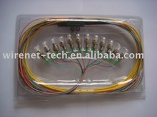 FC 12 core Ribbon cable fiber pigtail