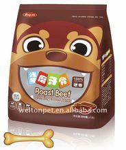 Nutritional Balance Roast Beef Teeth-Grinding Bone Dog Chews