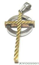 Circle Cross Pendants