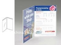 PE-279 2 Side Clear Acrylic Placard Holder