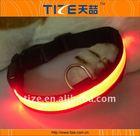 Fluorescent flashing led light dog collar waterproof led dog collar TZ-PET1241