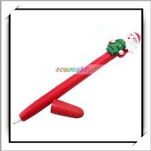 Cheap! Christmas Gift Fashion Design Santa Claus Ballpoint Pen 2 Pcs