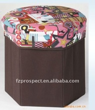 Dailly usage non woven folding storage ottoman