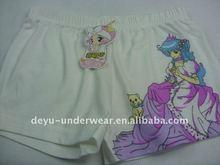 0.63USD Cotton Lovely Carton Print Free Size Girl Kids' Panties,Children's Thongs(jlhnk065)