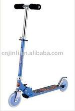 EN71 100% aluminum 125 PU wheel children scooter JL-2015
