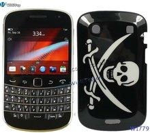 For Blackberry Bold Touch 9900 Skull Hard Back Case Cover.Different Skull Designs.
