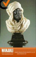 Marble figure Bust