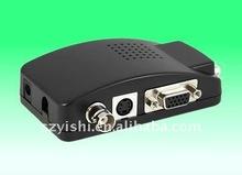 BNC01 RCA SVideo to VGA Video Converter Digital to Analog Any Video Transfer