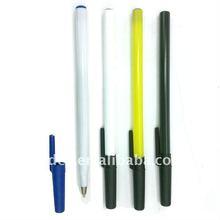 plastic simple ball-point pen,cheap free pen sample