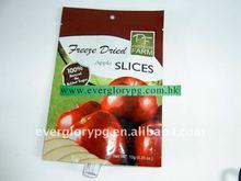 apple slice dry fruit plastic packing bag