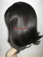 stock European hair Jewish wigs,Kosher wigs . 4*4 silk top. approve from rabi