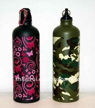 bpa free eco friendly aluminum drinking bottle