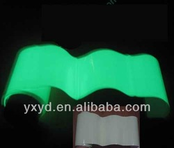 photo luminescent plastic film,glowing film,night glow film