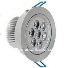 commercial ceiling spot light fixture 7w die casting