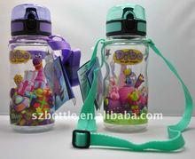 BPA free children water bottle with cartoon artwork (SQ350.03XCL)