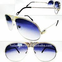 wholesale price brand name 2011 top sunglasses CT 1112 58-15 Silver Gray Lens italian brand sunglasses