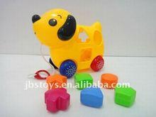 DIY cartoon building block dog TI11090059
